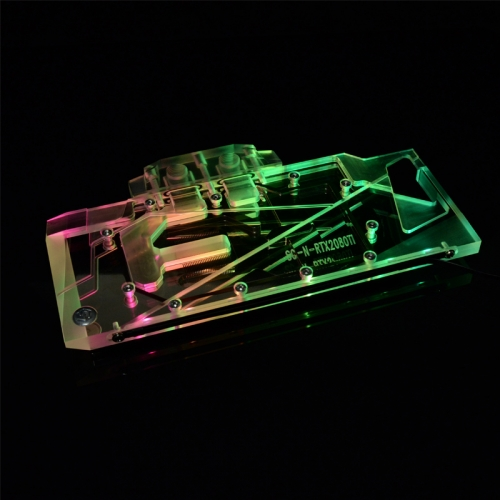 Syscooling RTX2080TI, Full Cover Graphics Card Water Cooling Block, For Colorful RTX2070 UTLA Gaming