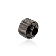 Syscooling high quality professional computer water cooling Copper Balck G1/4-10-L hand compression fitting Nozzle