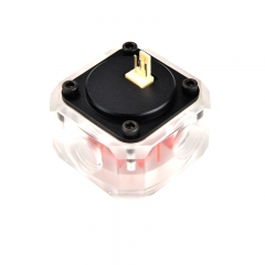 Syscooling RGB lights support Water flow meter for PC water cooling system